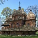 drewniana cerkiew na Podkarpaciu